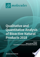 Qualitative And Quantitative Analysis Of Bioactive Natural Products 2018