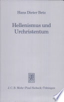 Hellenismus Und Urchristentum