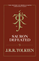Sauron Defeated  The End of the Third Age