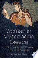 Women in Mycenaean Greece Book PDF
