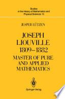 Joseph Liouville 1809   1882