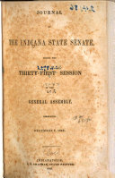 Journal of the Indiana State Senate During the     Session of the General Assembly
