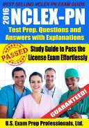 2016 Nclex Pn Test Prep Questions And Answers With Explanations