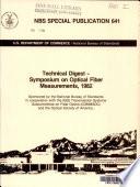 Technical Digest  Symposium on Optical Fiber Measurements  1982