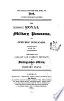 The Military Panorama  Or  Officer s Companion