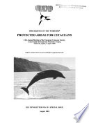Proceedings of the Workshop Protected Areas for Cetaceans