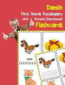 Danish First Words Vocabulary with Pictures Educational Flashcards Book PDF
