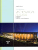 Introductory Mathematical Analysis for Business, Economics, and the Life and Social Sciences + Student Solutions Manual