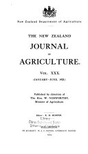 The New Zealand Journal of Agriculture