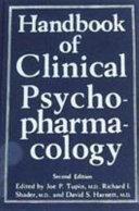 Handbook Of Clinical Psychopharmacology Book PDF