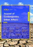 Journal of Contemporary Urban Affairs  Vol 1 No 3  2017
