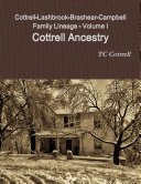 Cottrell Lashbrook Brashear Campbell Family Lineage Volume I Cottrell Ancestry