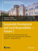 Sustainable Development and Social Responsibility—Volume 2