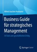 Business Guide für strategisches Management Pdf/ePub eBook