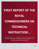 Second Report of the Royal Commissioners on Technical Instruction  Report on agricultural education in north Germany  France  Denmark  Belgium  Holland  and the United Kingdom
