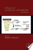 Advances in Clinical Chemistry Book