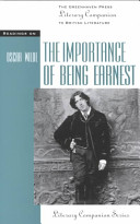 Readings on The Importance of Being Earnest