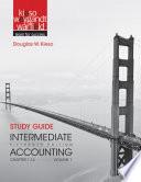 Study Guide to Accompany Intermediate Accounting, Volume 1