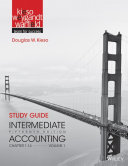 Study Guide to Accompany Intermediate Accounting, Volume 1