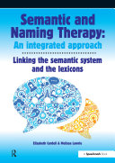 Semantic   Naming Therapy  An Integrated Approach