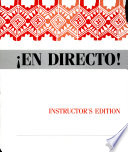 En directo!  : Spanish in action : a beginning course