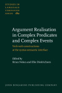 Argument Realisation in Complex Predicates and Complex Events
