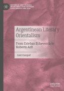 Pdf Argentinean Literary Orientalism Telecharger