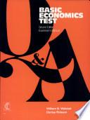 Basic Economics Test  Form A Test Booklets