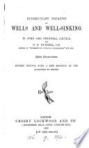 Rudimentary Treatise On Wells And Well Sinking
