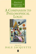 A Companion to Philosophical Logic ebook