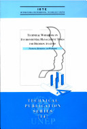 Technical Workbook on Environmental Management Tools for Decision Analysis