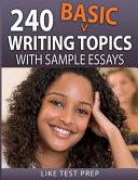 240 Basic Writing Topics