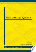 Power And Energy Systems Iii Book PDF