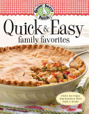 Gooseberry Patch Quick   Easy Family Favorites