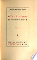 Washington Irving's Works: Alhambra, v. 1-2