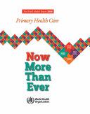 The World Health Report 2008