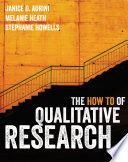 The How To of Qualitative Research Book