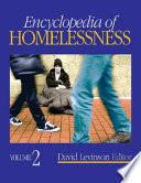 """Encyclopedia of Homelessness"" by David Levinson"