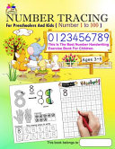 Number Tracing Book for Preschoolers and Kids Ages 3 5 Number 1 To 100