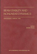 Beam Stability and Nonlinear Dynamics