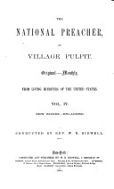The National Preacher and Village Pulpit