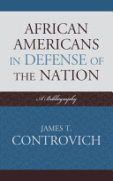 African-Americans in Defense of the Nation Pdf/ePub eBook
