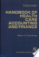Handbook of Health Care Accounting and Finance