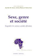 Pdf Sexe, genre et société-Engendrer les sciences sociales africaines Telecharger