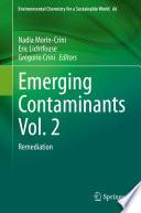 Emerging Contaminants Vol  2