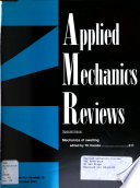 Applied Mechanics Reviews Book
