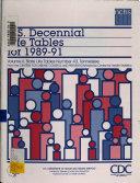 U S Decennial Life Tables For 1989 91 No 43