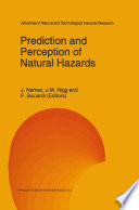 Prediction and Perception of Natural Hazards Book