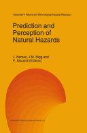 Prediction and Perception of Natural Hazards ebook