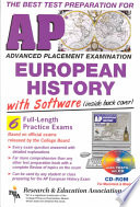 The Best Test Preparation for the Advanced Placement Examination, European History